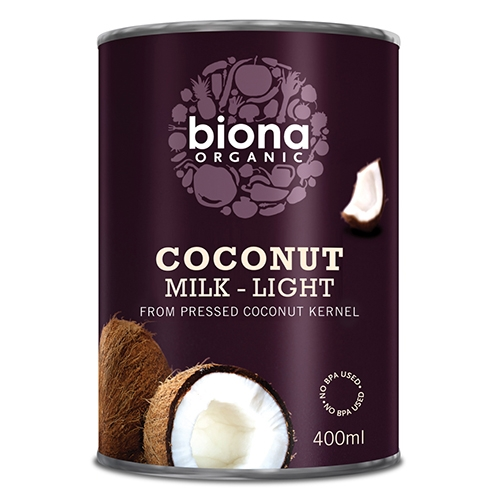 Biona, Kokosnussmilch Light 9% Fett, BIO, 400ml