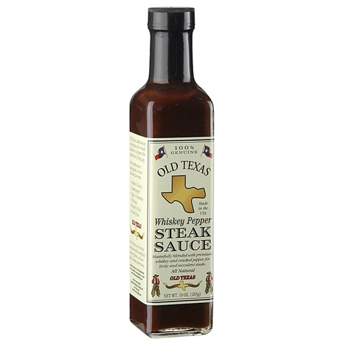 Old Texas Whiskey-Pfeffer BBQ Sauce, 250ml.