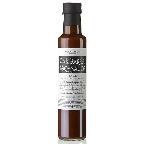 Kornmayer Oak Barrel BBQ Sauce, 250ml.