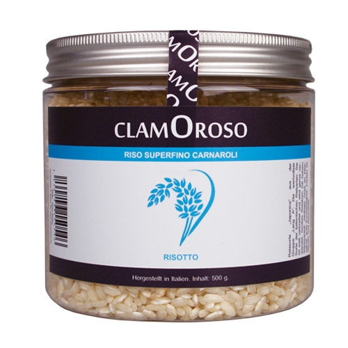 Clamoroso Risotto-Reis Superfino Carnaroli, 500g.