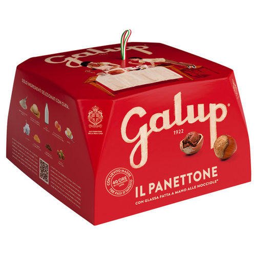 Galup Panettone Classico - Traditioneller Hefekuchen, 500g.