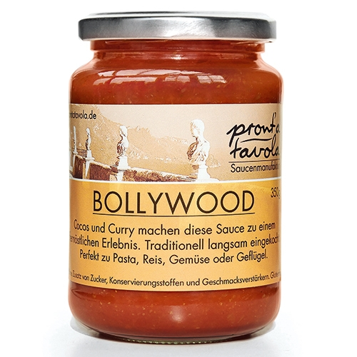 pront'a tavola, Bollywood, Tomatensauce, 350g.