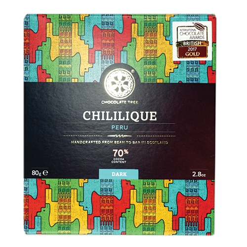 Chocolate Tree, Peru Chililique 70%, BIO, 80g.
