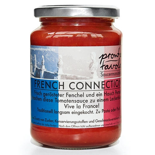 pront'a tavola, French Connection, Tomatensauce, 350g.