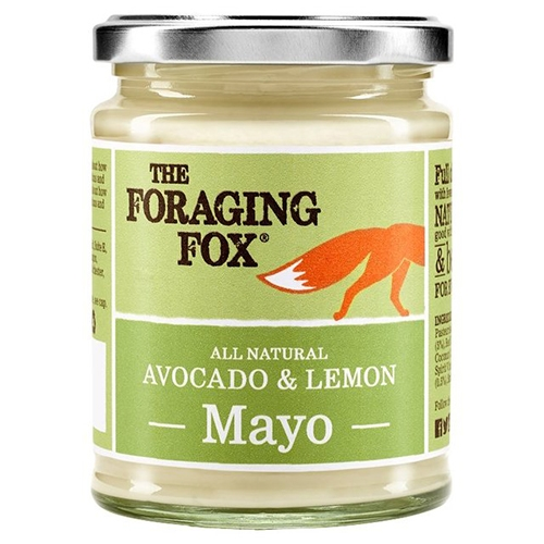 Foraging Fox, Avocado & Zitronen Mayonnaise, 240g.