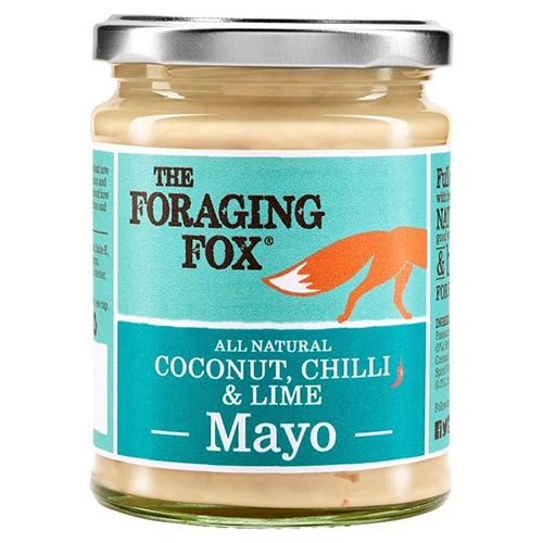 Foraging Fox, Kokosnuss, Chili und Limette Mayonnaise, 240g.