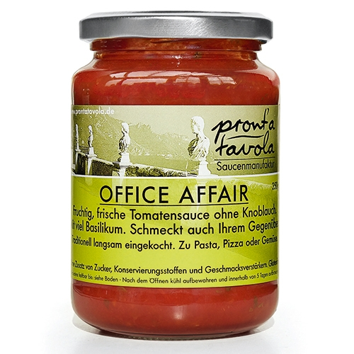pront'a tavola, Office Affair, Tomatensauce, 350g.