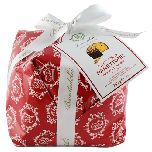 Brontedolci, Traditioneller Panettone aus Sizilien, 750g.
