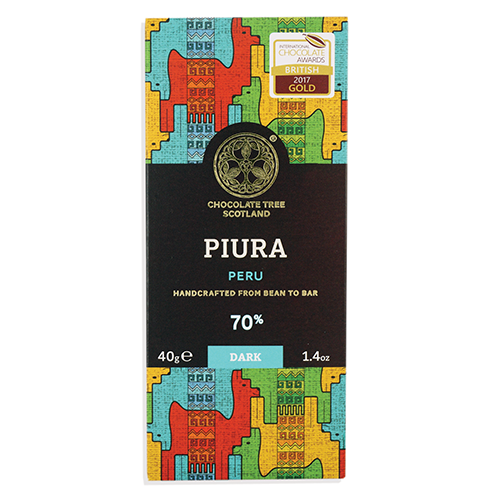 Chocolate Tree, Peru Chililique 70%, BIO, 40g.