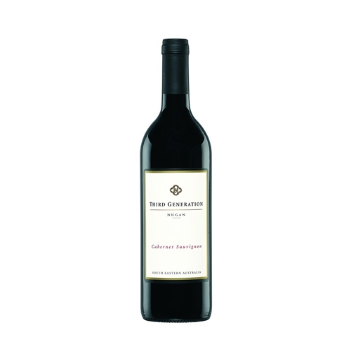 Nugan Estate 3rd Generation Cabernet Sauvignon 2008, 750ml.