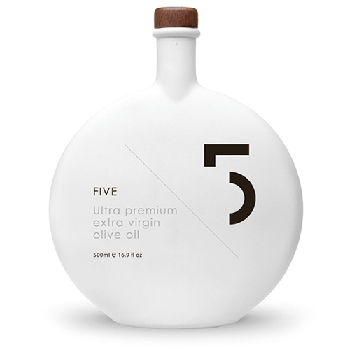 5 Oil, Koroneiki Ultra Premium Olivenöl, 500ml.