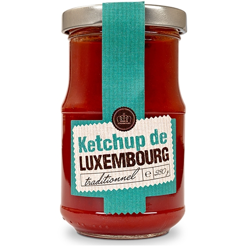 Moutarderie de Luxembourg, Ketchup, Glas, 230g.